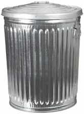 Witt Industries WCD32CL Galvanized Steel 32-Gallon Light Duty Trash Can with