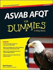ASVAB AFQT for Dummies by Consumer Dummies Staff and Rod Powers (2014, Paperbac…