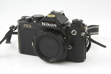 Nikon FM2N FM2 N 35mm Film SLR Black Camera Body