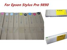 Empty Refillable Ink Cartridges With Chips 9pcs/set For Epson Stylus Pro 9890