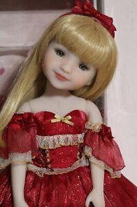 Ruby Red Fashion Friends Holiday Stella  doll