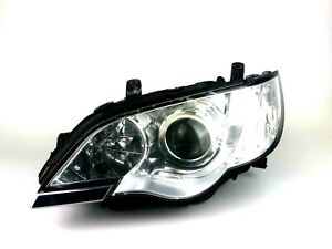 2007 - 2009 Subaru Legacy Outback Front Xenon Left Headlight Headlamp Unit RHD