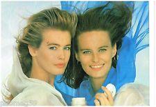 Publicité Advertising 1990 (6 pages) Crème Vichy Avec Claudia Schiffer