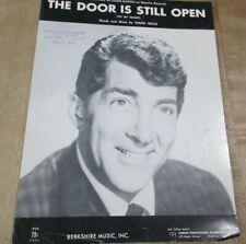 The Door is Still Open 1955    Sheet Music  (b)