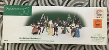 Department 56 Dickens Village Here We Come A-Wassailing #58410 PreOwned Set of 5