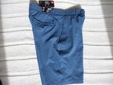 NWT Under Armour Golf Shorts Heather Blue Size 32