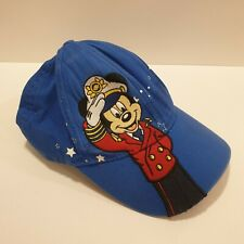 Disney Dream Cruise Line Ships Mickey Mouse Cap Hat Kids Blue Great Condition