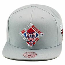"Mitchell & Ness NBA All Star Game 1991 ""Charlotte"" Snapback Hat GREY/Bulls Patch"