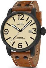 TW STEEL watch - TWMS41 - Leather strap - Fast free delivery - £349 RRP