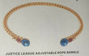 Origami Owl Limited Edition Justice League WONDER WOMAN Adjustable Rope Bracelet