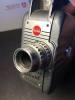 Kodak Cine Kodak Reliant 8mm Vintage Movie Camera Camcorder Works See Pics!