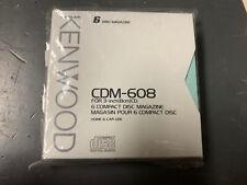 Kenwood Cdm-608 6 Cd Changer magazine For 3-inch Cd *New*