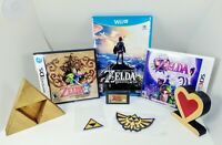 Nintendo Legend of Zelda Game Lot - Wii U GBA 3DS DS Breath Majora Link Phantom