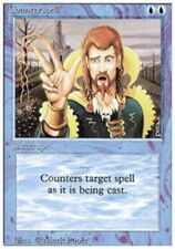 Counterspell, Heavy Play, English, 3rd Edition/Revised MTG