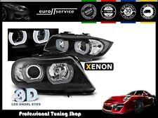 FARI ANTERIORI HEADLIGHTS LPBMI6 BMW E90 E91 2005 2006 2007 2008 3D U-TYPE XENON