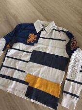 Gant rugby shirt L 50 52 rugby shirt Bastian Rugger Preppy Yale University patch