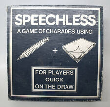 Vintage Speechless Charades Board Game, Free UK Postage