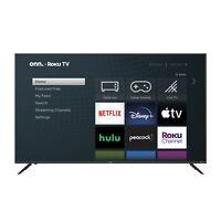onn. 70-Inch Class 4K UHD LED Roku Smart TV HDR Home TV Bedroom