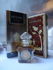GUERLAIN MITSOUKO PARFUM 7.5ml Vintage 1980s New Sealed Bottle Nr Mint Outer Box