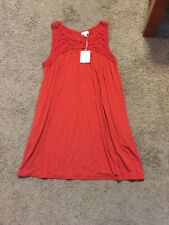 NWT!! - A:Glow Maternity Crochet Tank Dress - Size Medium