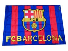 Bandera Barça Club FC Barcelona Grande 90x150cm Con Escudo Culés Barca