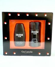 DRAKKAR NOIR by Guy Laroche 2 PC GIFT SET(1.0 OZ EDT+2.6 oz DEO Stick)New In BOX