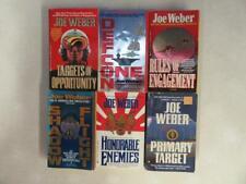 BIG Lot (6) JOE WEBER War Military Book SCOTT DALTON JACKIE SULLIVAN BRAD AUSTIN