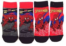 Marvel The Amazing Spider-Man Boy's Toddler Socks 2 Pair Set Size 7-9 NWT