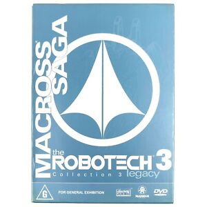 The Robotech 3 Macross Saga Animation 3 DVD Box Set Region 4
