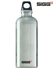 SIGG Flasche 0,6 L Trinkflasche Traveller Alu Silber
