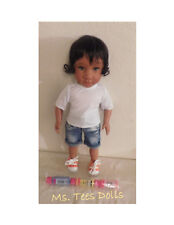Color Me Kids Ethnic/Biracial 18 inch Girl Doll (Carly) Hazel Eyes