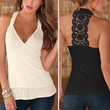 V Neck Cotton Tops & Shirts Size Petite for Women