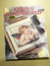 New listing Leisure Arts Angels Remembered Counted Cross Stitch Designs Charts 40 Projects