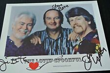 "The Lovin' Spoonful, Jerry, Joe & Steve all 3 Autographs 8"" x 10"" Color"