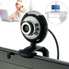USB 6 LED 50 Mega Pixel HD Webcam Camera With MIC Microphone For PC Laptop FastU