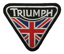 Triumph Motorcycles Iron On Biker Patch (3 Inch) Usa Shipper