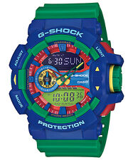 CASIO GA-400-2A G-SHOCK Ana-Digi Big Case Series LED Resin Strap Green