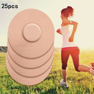 25 Pcs Beige Tester Patches Waterproof Latex-free Hypoallergenic Breathable