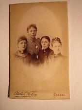 Kassel-Mathilde hitzeroth & Anna Sinning & Luise u. Mary comedero/CDV