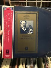 J. Thibaud Violin Recital EMI/Angel Japan Obi RARE! Mono LP