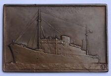 Médaille Medal Congo Fischweiller 1945 Compagnie maritime belge ship Lloyd