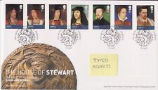 Tallents PMK GB Royal mail FDC 2010 House of Stewart Stamp Set