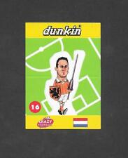 Dunkin Crazy Football 1998 Pop Up card #16 Kluivert of Holland
