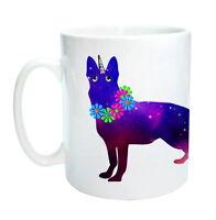German Shepherd Unicorn Dog Mug -German Shepicorn!  Birthday Gift Xmas Gift Mug