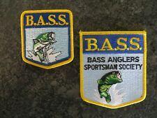 Vintage Mint Old Logo B.A.S.S. Patch Set