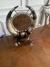 More details for antique large horn dinner gong