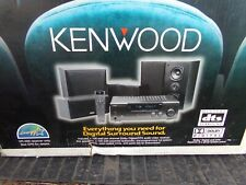 Kenwood HTB-502 Digital Surround Sound System VR-309 KS-401HT SW-32HT NEW IN BOX