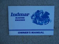 2000 Indmar Marine Engine 140- 400 Owner Manual NEED A MANUAL? WE'VE GOT LOTS  S