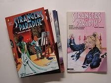 Extraños en Paradise (tilsner, br) Nº 1-9 rodamient. (z1)