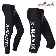 Men Womens Diving Suit Leggings Tight Trousers Pants Rash guard Sport Gym Yoga